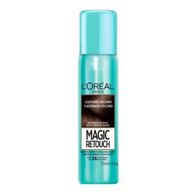 Imagem 2 do produto Corretivo  Instantâneo L'Oréal Paris - Magic Retouch - Castanho Escuro