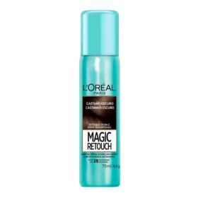 Retoque de Raiz  Spray Instantâneo Magic Retouch - Castanho Escuro | 75ml