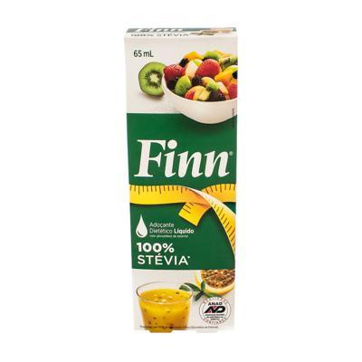 Imagem 1 do produto Adoçante Finn Stévia Gotas 65ml