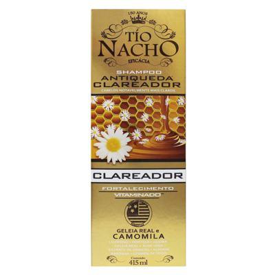 Shampoo Tio Nacho - Antiqueda Clareador | 415ml