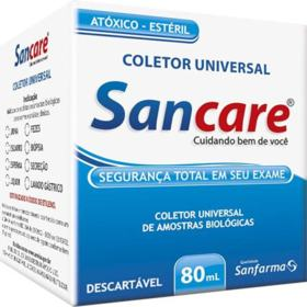 Coletor Universal 80ml Sanfarma