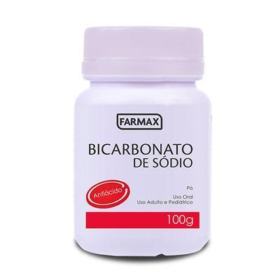 Bicarbonato De Sódio Farmax 100g