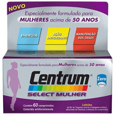 Imagem 1 do produto Centrum Select Mulher 60 Comprimidos