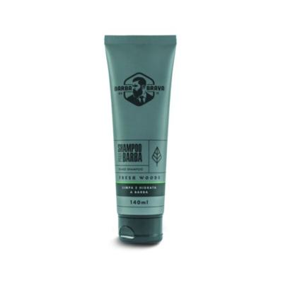 Imagem 2 do produto SHAMPOO PARA BARBA –FRESH WOODS - BARBA BRAVA - Shampoo para Barba Fresh Wood