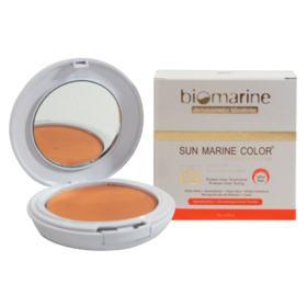 Sun Marine Color Compacto FPS52 Biomarine - Pó Compacto - Bege