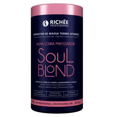 Imagem 2 do produto Richée Professional Soul Blond - Máscara Repositora de Massa Termo Ativado - 1Kg