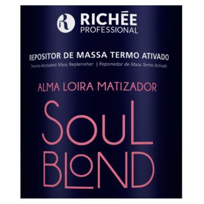 Imagem 4 do produto Richée Professional Soul Blond - Máscara Repositora de Massa Termo Ativado - 1Kg