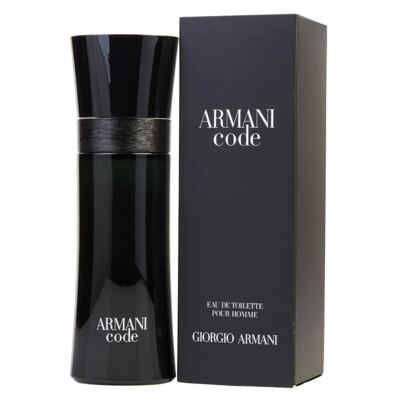 Imagem 2 do produto Armani Code Giorgio Armani - Perfume Masculino - Eau de Toilette - 75ml