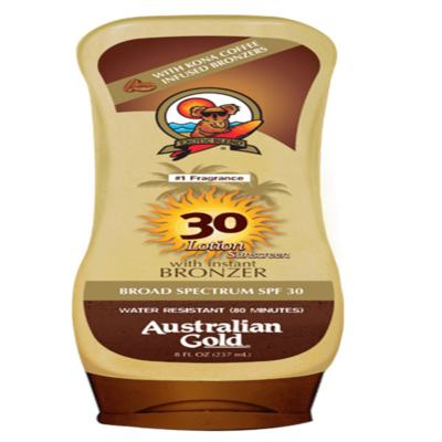 Imagem 2 do produto Australian Gold Kona Coffee Instant Bronzer Bronzeador FPS 30 - Australian Gold Kona Coffee Instant Bronzer Bronzeador FPS 30 237ml