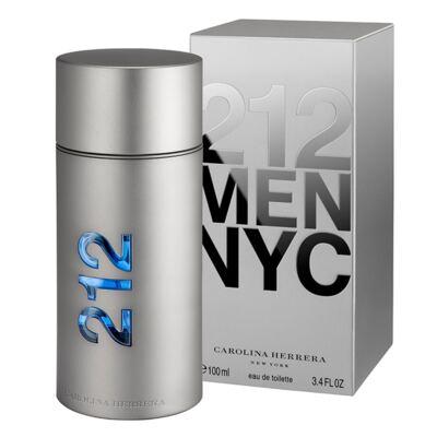 Imagem 2 do produto 212 Men Nyc Carolina Herrera - Perfume Masculino - Eau de Toilette - 100ml