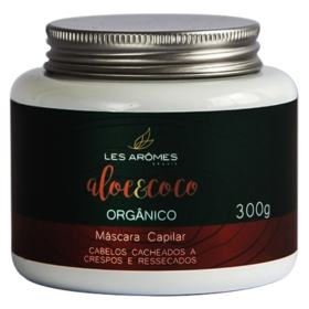 Les Arômes Aloe e Coco Orgânico Amazônia - Máscara Capilar - 300g