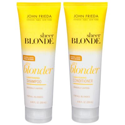 Imagem 1 do produto Kit Shampoo + Condicionador John Frieda Sheer Blonde Go Blonder Lightening - Kit