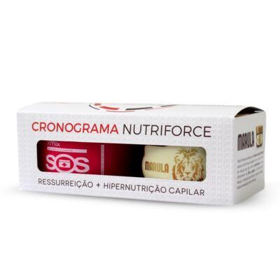 FELPS CRONOGRAMA NUTRIFORCE SOS 300GR + MARULA 300GR -