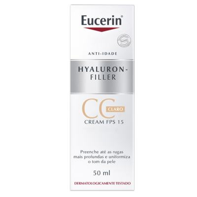 Imagem 5 do produto CC Cream Eucerin Hyaluron-Filler - FPS 15, Claro, 50mL - 50mL