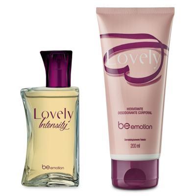 Imagem 6 do produto Perfume Lovely Intensity + Hidratante Feminino Lovely Be Emotion - | Combo: Perfume + Hidratante Lovely
