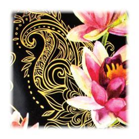 WetBrush Pro Floral Collection - Escova de Cabelo - Rosa