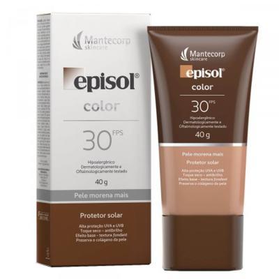 Imagem 1 do produto Episol pele morena mais FPS 30 40 G