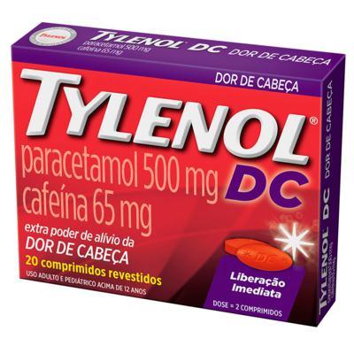 Imagem 1 do produto TYLENOL DC 20 Comprimidos