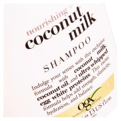 Imagem 4 do produto Shampoo Ogx Coconut Milk - Shampoo Ogx Coconut Milk 385ml