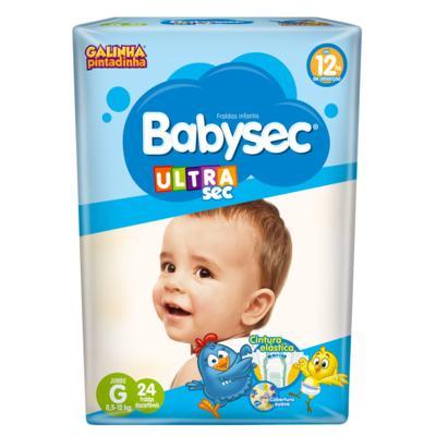 Imagem 1 do produto Fralda Babysec Galinha Pintadinha G 24 unidades