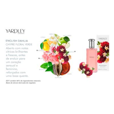 Imagem 3 do produto English Dahlia Yardley Perfume Feminino - Eau de Toilette - 125ml