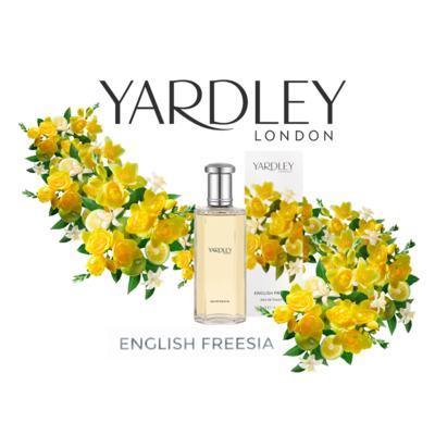 Imagem 4 do produto English Freesia Yardley Perfume Feminino - Eau de Toilette - 125ml