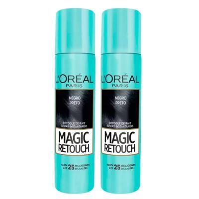 Imagem 3 do produto L'Oréal Paris Magic Retouch + Ganhe Cicatri Renov Kit - Leave-In + 2 Corretivos Capilar Preto - Kit