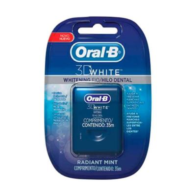 Fio Dental Oral-B 3d White