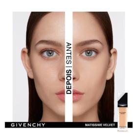 Base Facial Givenchy - Matissime Velvet Fluid - 01 - Mat Porcelain