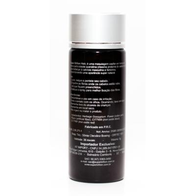 Imagem 4 do produto Super Billion Hair - Disfarce para a Calvície 8g - Cinza