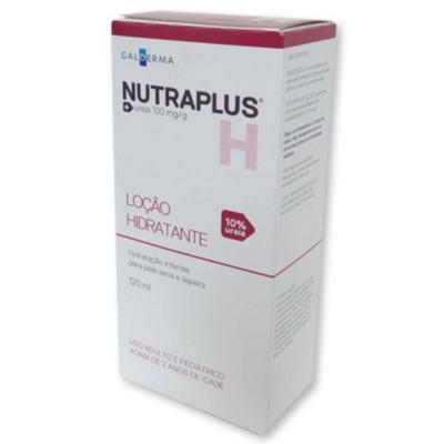 NUTRAPLUS H 10% LOÇÃO HIDRATANTE - 120ML