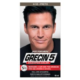 Shampo Color Grecin5 - Preto intenso | 60ml