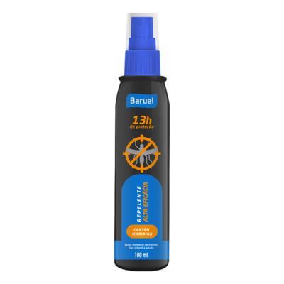 Repelente Spray Baruel Icaridina 100ml