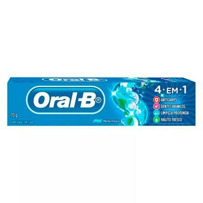 Creme Dental Oral B 4 em 1 Menta Fresca 70g