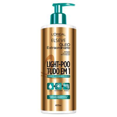 Imagem 1 do produto L'Oréal Paris Elseve Light-Poo Óleo Extraordinário - Shampoo de Tratamento - 400ml