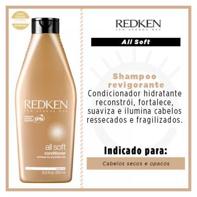 Imagem 2 do produto Redken All Soft - Condicionador Hidratante - 250ml