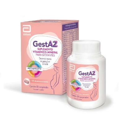 Imagem 1 do produto GestAZ 30 comprimidos