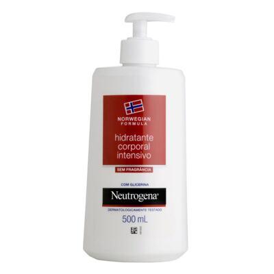 Imagem 1 do produto Hidratante Corporal Intensivo Neutrogena Norwegian Sem Fragrância 500ml