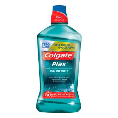 Imagem 1 do produto ENXAGUANTE BUCAL COLGATE PLAX INFINITY L100 P700ML COLGATE