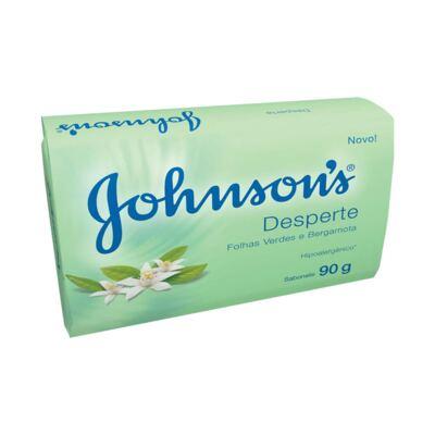 Imagem 1 do produto Sabonete Johnson's Desperte Folhas Verdes e Bergamota 90g