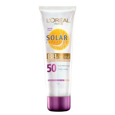 Protetor Solar Expertise Creme BB Cream 5 Em 1 - Fps50 | 50g