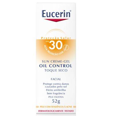 Imagem 3 do produto Protetor Solar Facial Eucerin Oil Control Toque Seco FPS30 52g