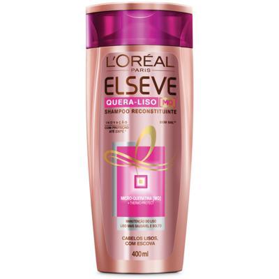 Imagem 1 do produto Shampoo Elseve Quera-liso Reconstituinte 400ml