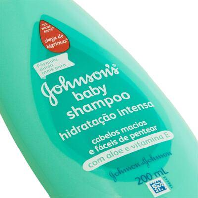 Imagem 2 do produto Shampoo Johnson's Baby Hidratação Intensa 200ml