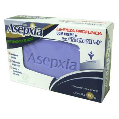 Imagem 1 do produto Sabonete Cremoso Natural Adstringente Asepxia - 90g