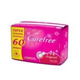 Absorvente Carefree Protetor Diario Original Com Perfume - Sem Abas | 60 unidades