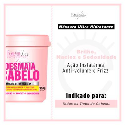 Imagem 4 do produto Forever Liss Desmaia Cabelo - Máscara Ultra Hidratante - 950g