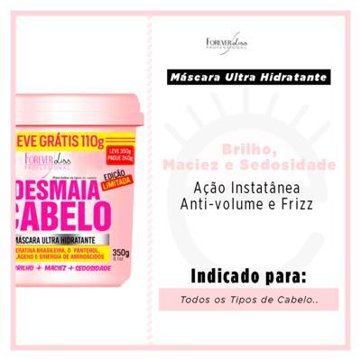 Imagem 4 do produto Forever Liss Desmaia Cabelo - Máscara Ultra Hidratante - 350g