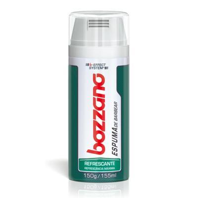 Imagem 1 do produto Espuma de Barbear Bozzano Refrescante - 190g