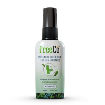 Imagem 1 do produto Bloqueador de Odor Sanitário FreeCô Capim Limão 60ml
